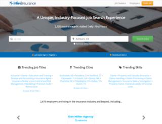 ihireinsurance.com screenshot