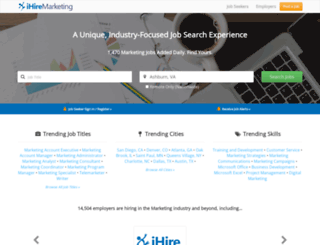 ihiremarketing.com screenshot