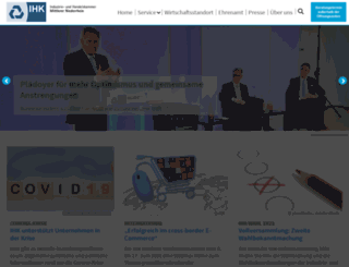 ihk-krefeld.de screenshot