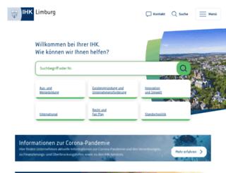 ihk-limburg.de screenshot