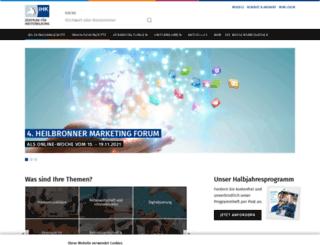 ihk-weiterbildung.de screenshot