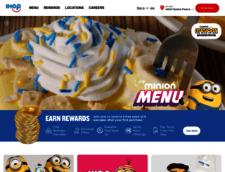 ihop.com screenshot