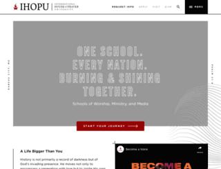 ihopu.org screenshot