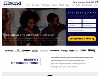 ihound.co.za screenshot