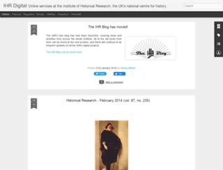 ihr-history.blogspot.com screenshot