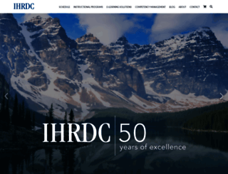 ihrdc.com screenshot