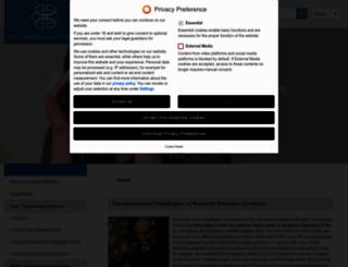 ihs-classification.org screenshot