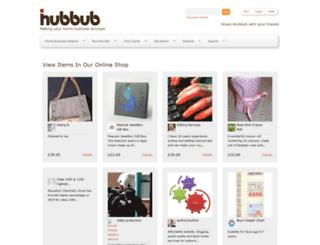 ihubbub.com screenshot