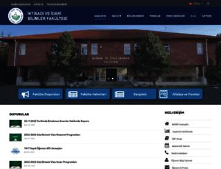 iibf.ibu.edu.tr screenshot