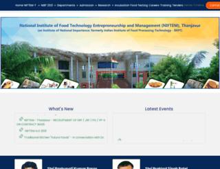iicpt.edu.in screenshot