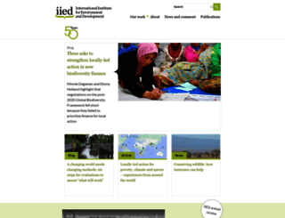 iied.org screenshot