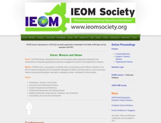iieom.org screenshot