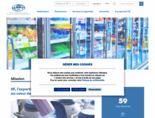 iifiir.org screenshot
