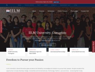 iilm.edu.in screenshot