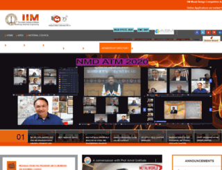 iim-india.net screenshot
