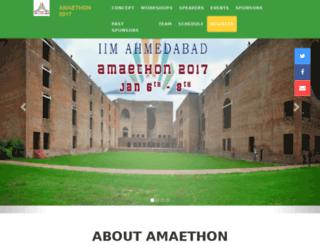iimaamaethon.com screenshot