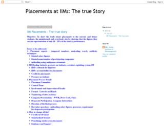 iimcplacement1.blogspot.in screenshot