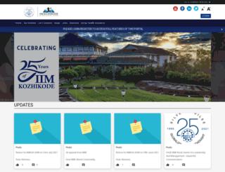 iimkalumni.org screenshot