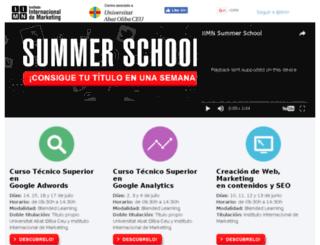 iimnsummerschool.com screenshot