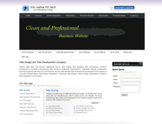 iinfotech.com screenshot