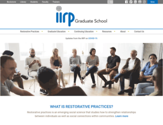 iirp.edu screenshot