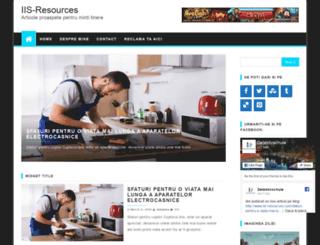 iis-resources.com screenshot