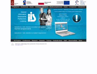 iis.p.lodz.pl screenshot