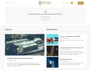 iis.provida.org.br screenshot
