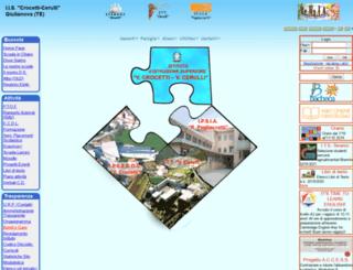 iiscrocetticerulli.gov.it screenshot