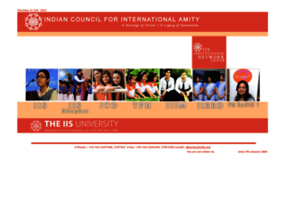 iisjaipur.org screenshot
