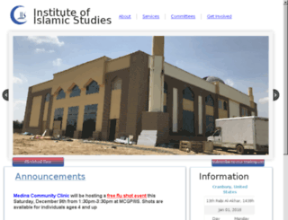 iisnj.org screenshot