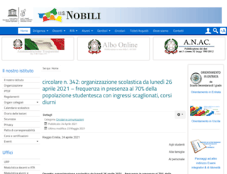 iisnobili.gov.it screenshot