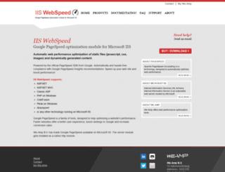 iispeed.com screenshot