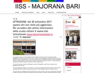 iissmajoranabari.gov.it screenshot
