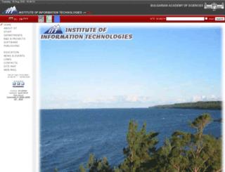 iit.bas.bg screenshot