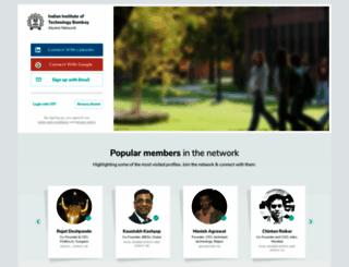 iitb.almaconnect.com screenshot