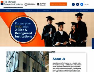 iitbmonash.org screenshot