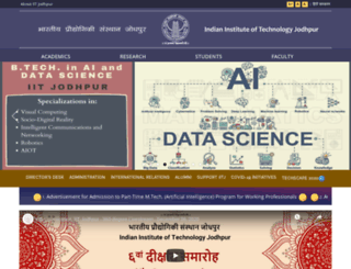iitj.ac.in screenshot