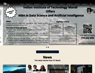 iitmandi.ac.in screenshot