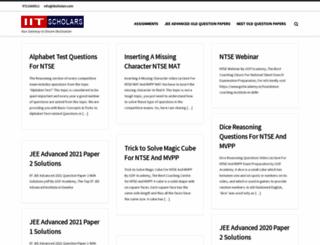 iitscholars.com screenshot