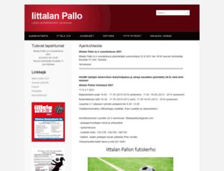 iittalanpallo.fi screenshot