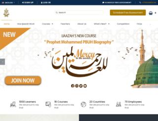 ijaazah.com screenshot