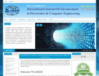 ijaece.com screenshot
