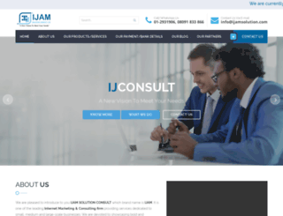 ijamsolution.com screenshot