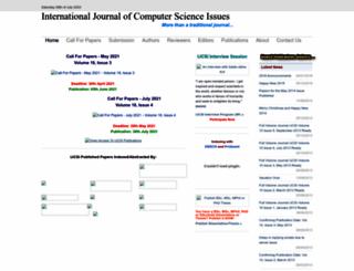 ijcsi.org screenshot