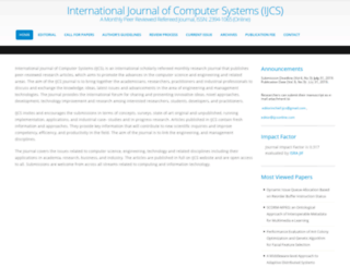 ijcsonline.com screenshot