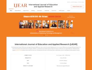 ijear.org screenshot