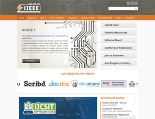 ijeee-apm.com screenshot