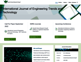 ijettjournal.org screenshot