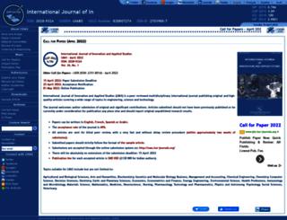 ijias.issr-journals.org screenshot